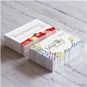 300g双面哑膜名片印刷 普通名片制作
