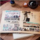 A4蝴蝶精装照片书 个性DIY制作毕业纪念册、宝宝成长相册等