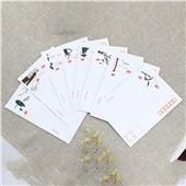 牛皮纸信封印刷利是封彩色信封红包袋定制白色双胶纸信封袋定制