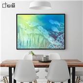 鱼悦--快乐鱼现代简约装饰画客厅餐厅卧室玄关色彩温暖舒缓