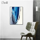 抽象艺术-快乐鱼现代简约客厅沙发背景餐厅墙面抽象装饰画