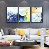 色彩密码--现代简约时尚装饰画餐厅卧室沙发背景挂画