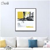 抽象迷情--客厅沙发背景餐厅墙面抽象装饰画创造浪漫氛围色彩鲜艳