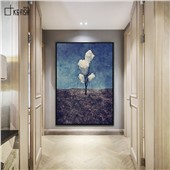 三朵白云--现代简约时尚装饰画客厅餐厅卧室沙发背景挂画