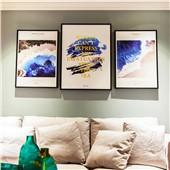 梵迪--现代北欧简约客厅沙发卧室背景墙色彩温馨舒缓减压装饰画