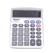晨光12位桌面型计算器财务金属面板太阳能经典(ADG98123)