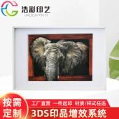 3D浮雕裝飾畫定制 裝飾海報速賣通wish畫芯海報家居裝飾墻貼定